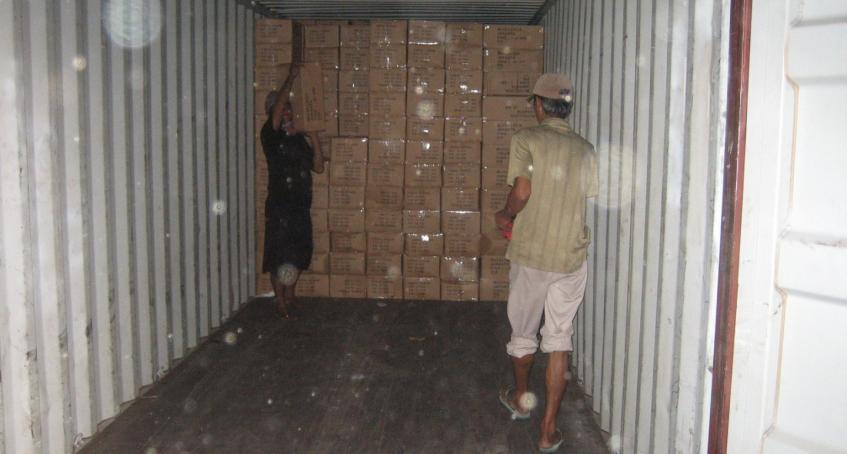 Container Loading/Un-loading Supervision (CLS)